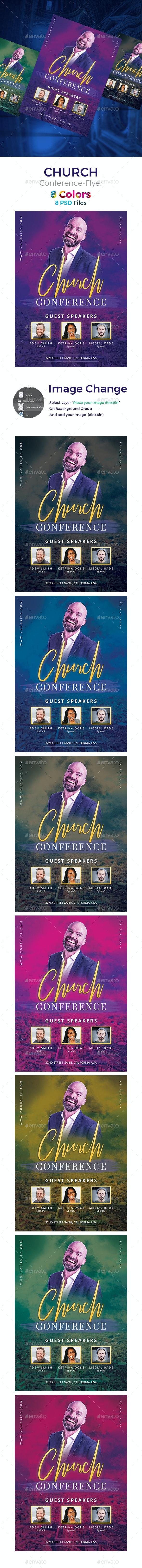 Top- Church Flyer Template - Church Flyers