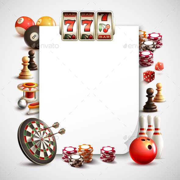 Games Realistic Frame - Sports/Activity Conceptual