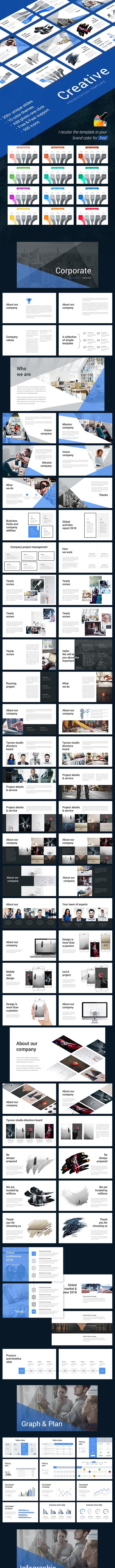 Creative Keynote - Creative Keynote Templates