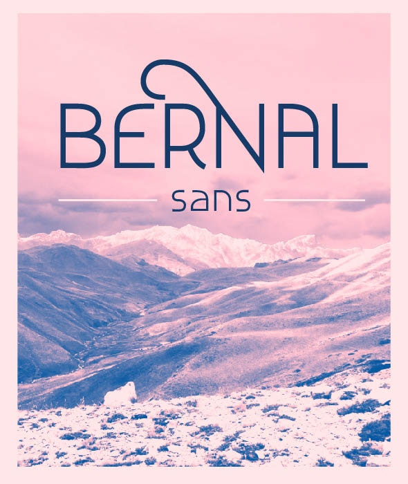 Bernal Sans - Sans-Serif Fonts