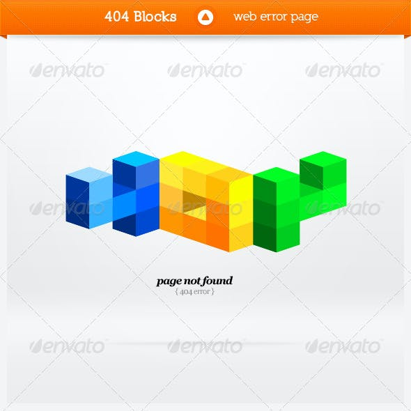 404 Page Templates From Graphicriver
