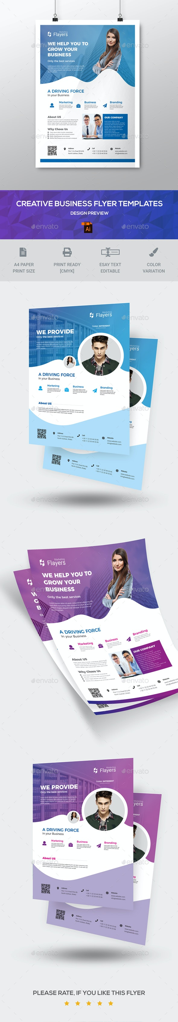 Flyer Templates - Corporate Flyers