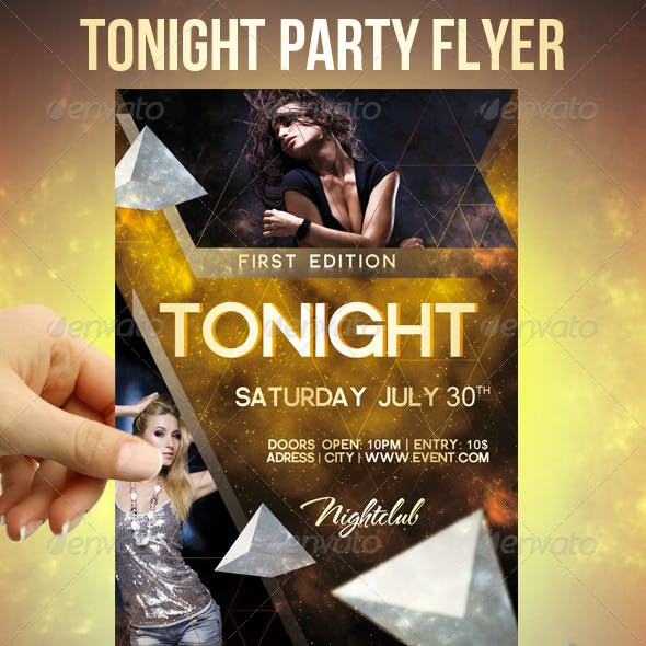 Tonight Party Flyer