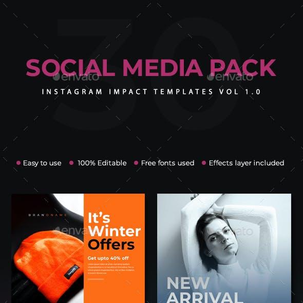 Instagram Impact Templates Vol 1.0