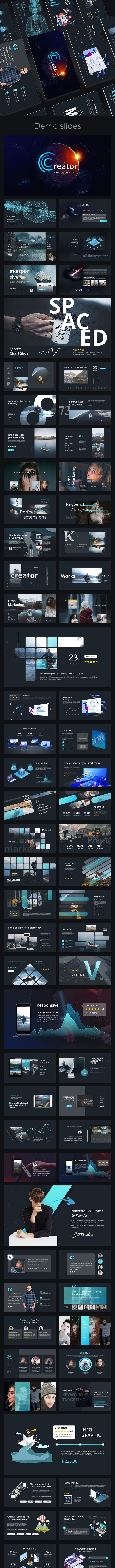 Creator Creative Powerpoint Template - Creative PowerPoint Templates