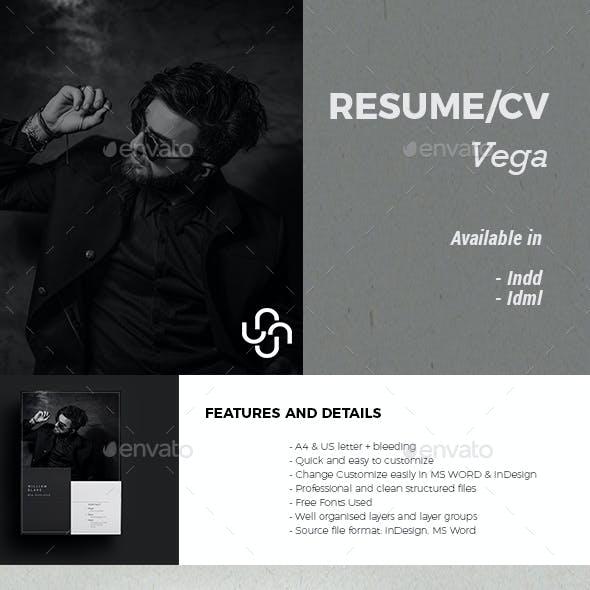Vega Resume Template