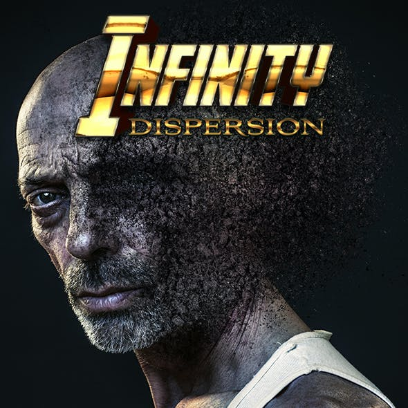 Infinity Dispersion Photoshop Action