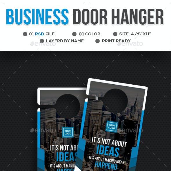 Business Door Hanger