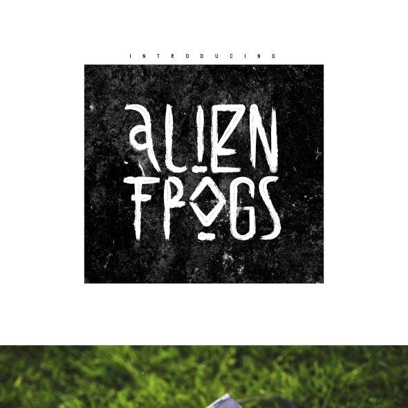 Alien Frogs Font