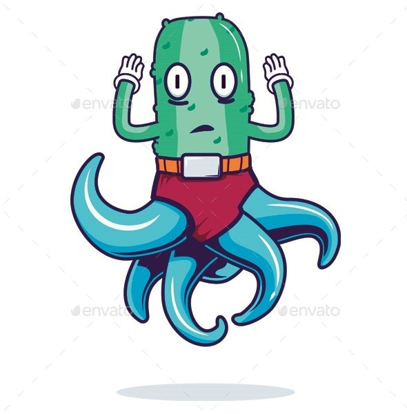 Pickle Squid Vector - Miscellaneous Characters