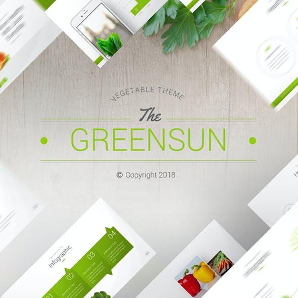 The Greensun Keynote Presentation Template