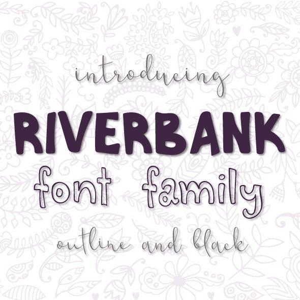 Riverbank font family