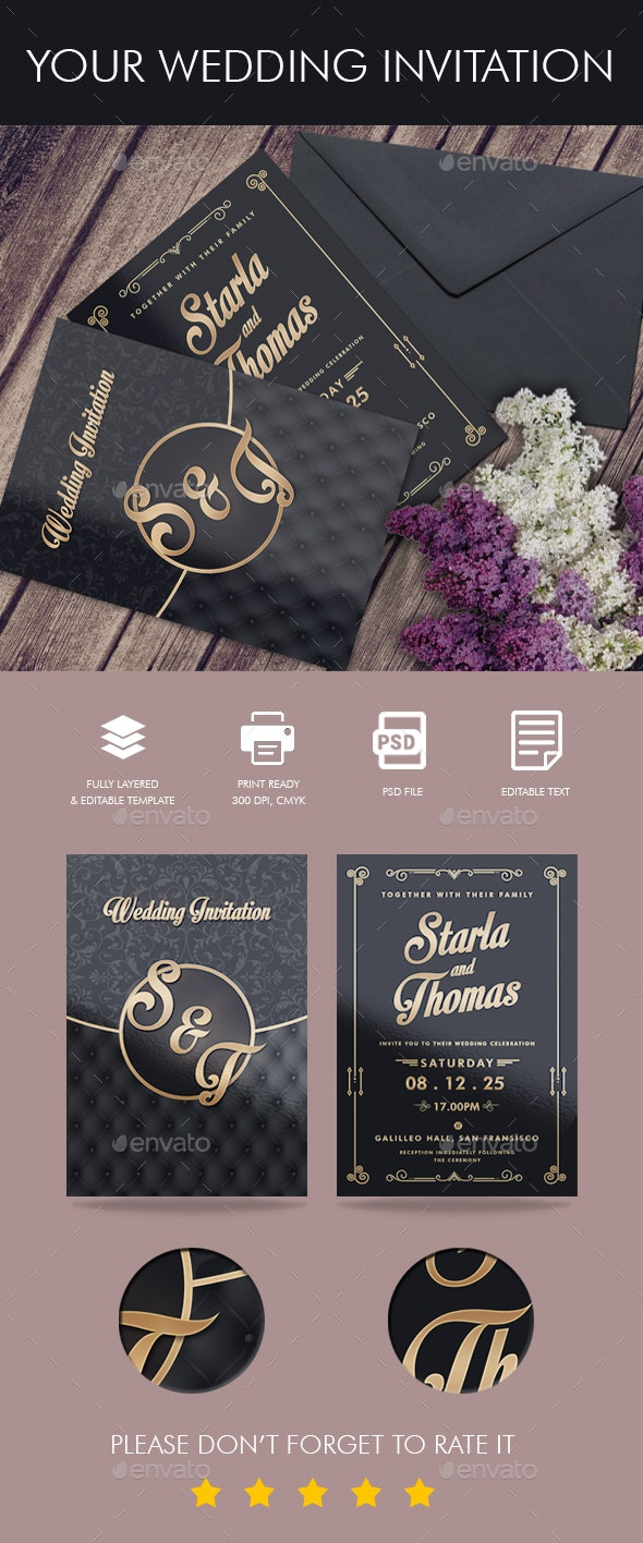 Your Wedding Invitation - Weddings Cards & Invites