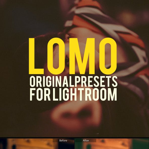 15 Lomo Lightroom Presets