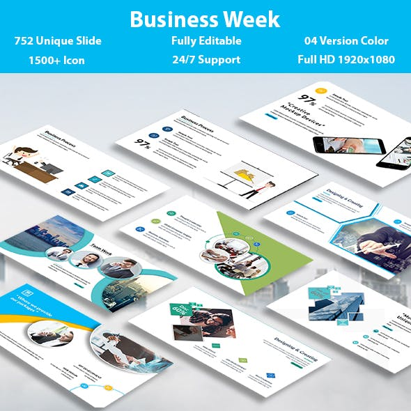 Business Week PowerPoint Template