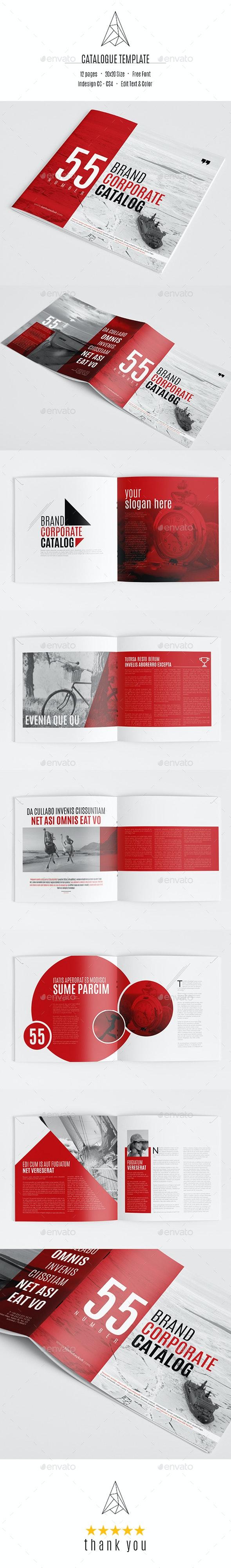 Brand Catalog Template - Catalogs Brochures