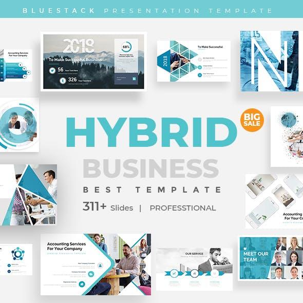 Hybrid Pitch Deck Business Keynote Template