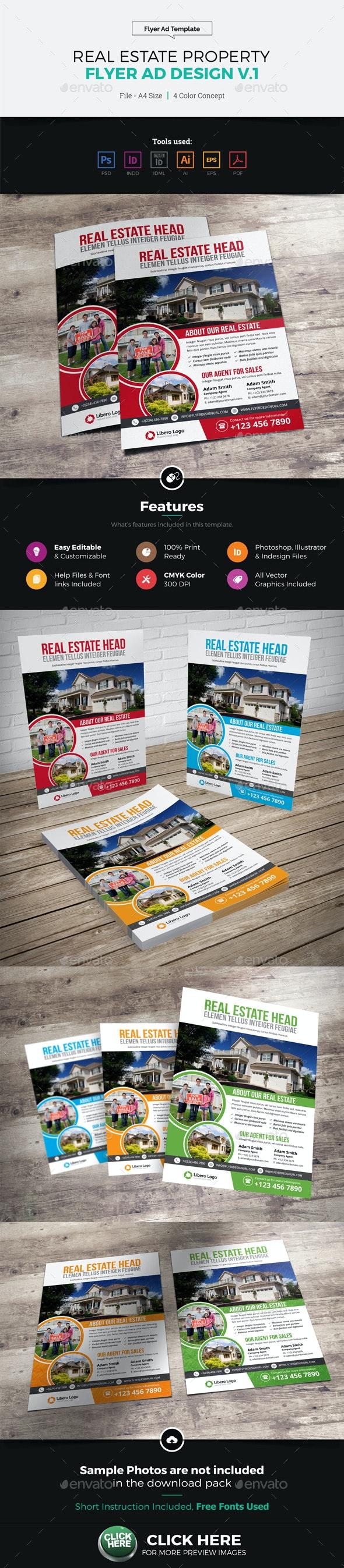 Real Estate Flyer Ad Design v1 - Corporate Flyers
