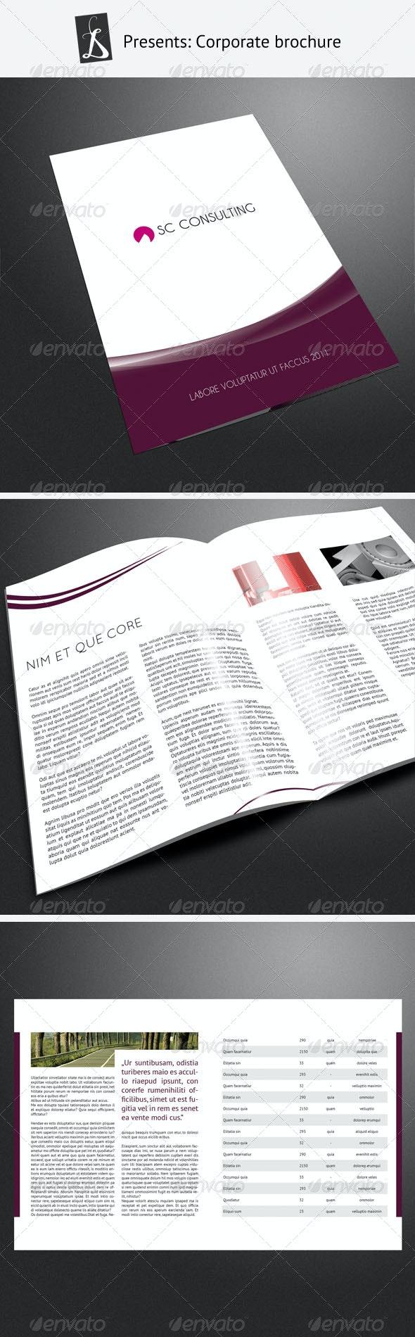 Corporate Brochure 3 - Corporate Brochures