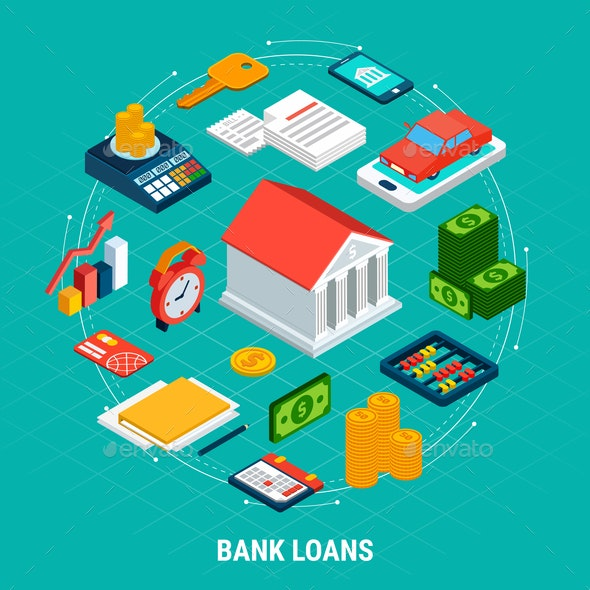 Bank Loans Round Composition - Concepts Business