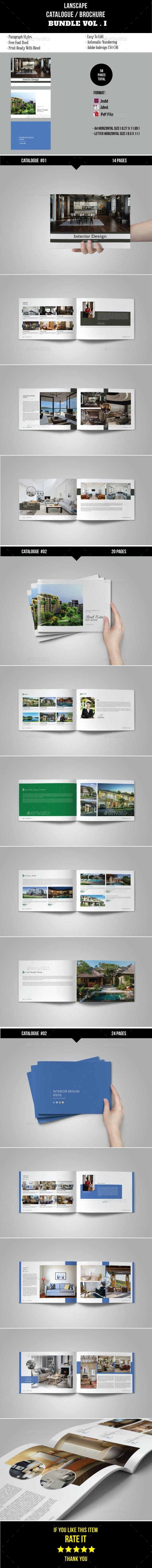 Lanscape Catalogue / Brochure Bundle Vol. 1 - Catalogs Brochures