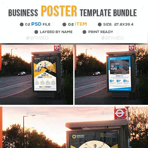 Business Poster Bundle