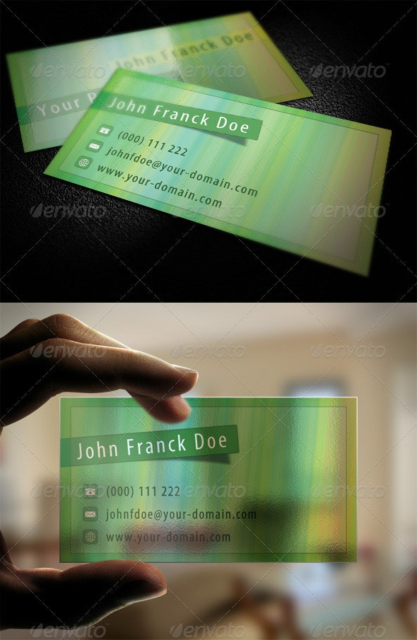 Pastel Business Card - Corporate Business Cards