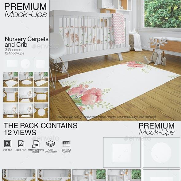 Carpets in Nursery Mockups Pack