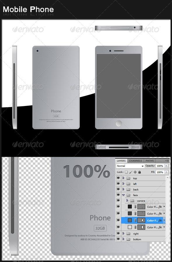 Mobile Phone - Mobile Displays