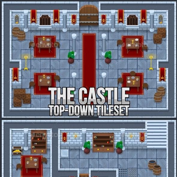 The Castle - Top Down Tileset