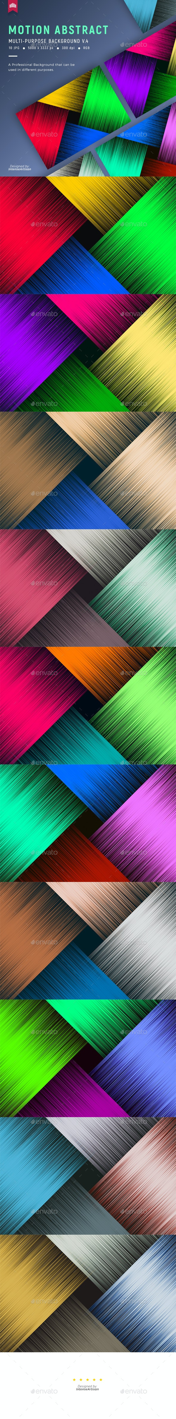 Motion Abstract - Background V.4 - Abstract Backgrounds