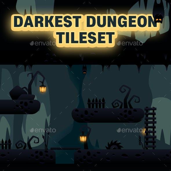 Darkest Dungeon Tileset Game Asset
