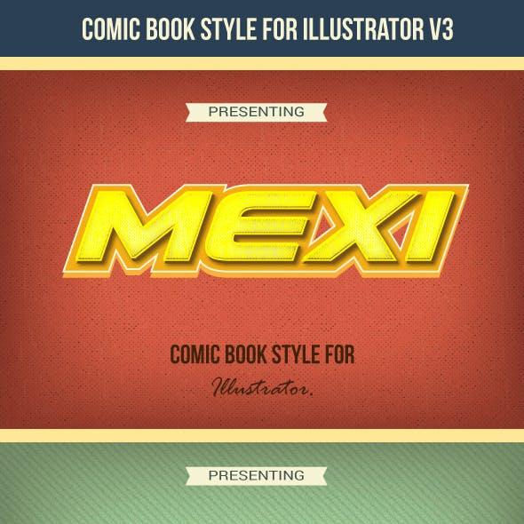 Comic Graphic Style