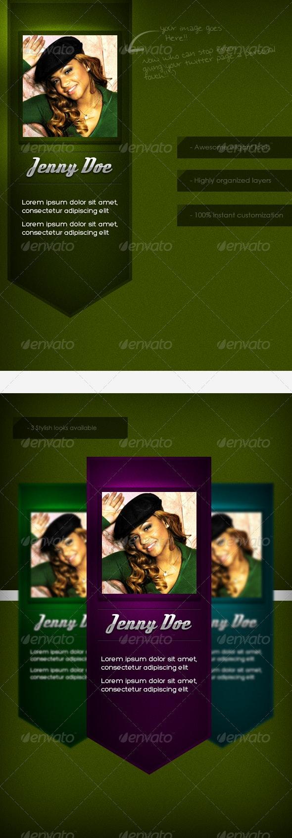 Retro Twitter Background - Twitter Social Media