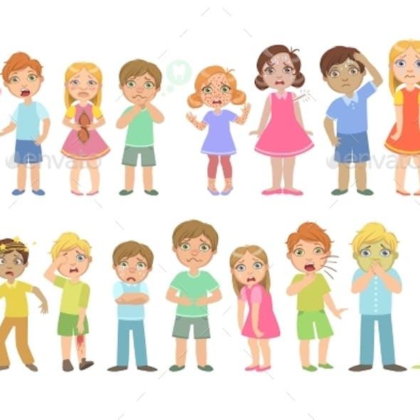Kids With Maladies Set