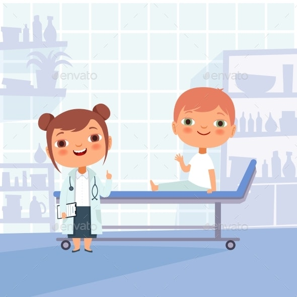 Patient at Doctor Appointment - Health/Medicine Conceptual