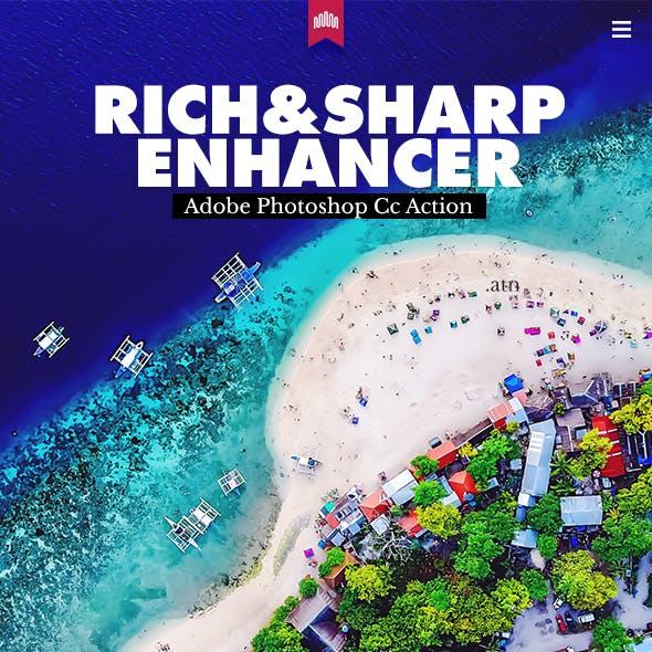 Rich & Sharp Enhancer Action Effect