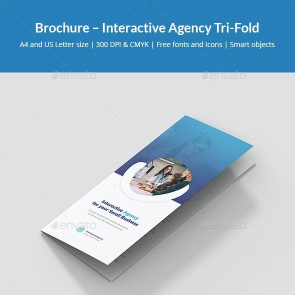 Brochure – Interactive Agency Tri-Fold
