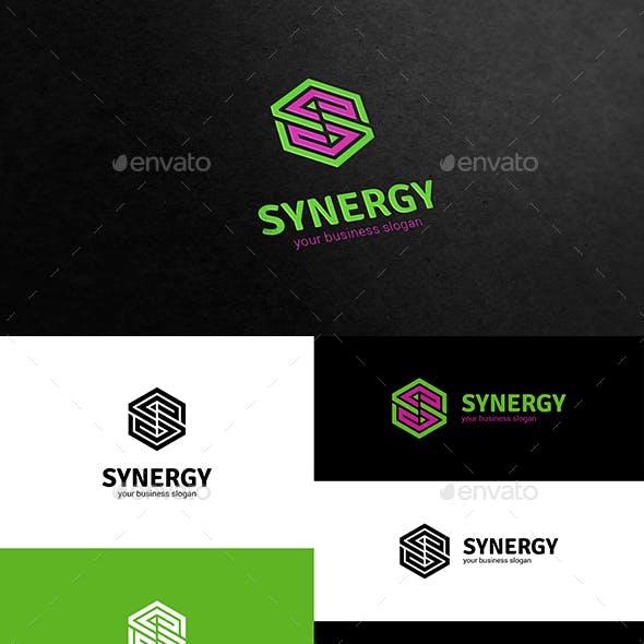 Synergy S Letter Logo