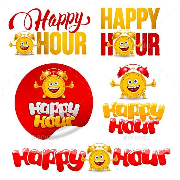 Happy Hour - Decorative Symbols Decorative