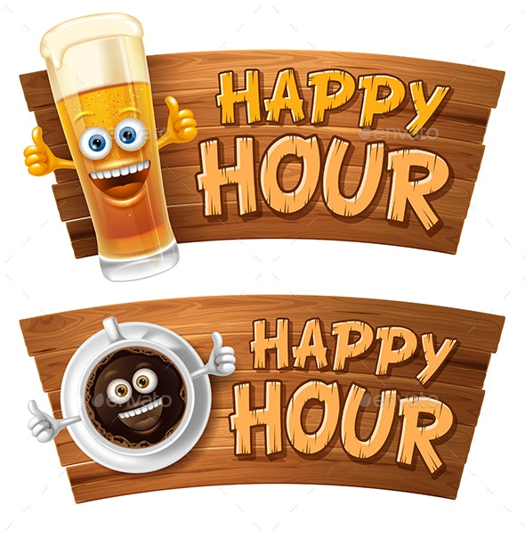 Happy Hour - Food Objects