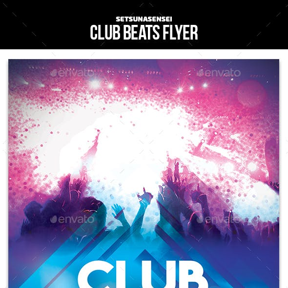 Club Beats Flyer