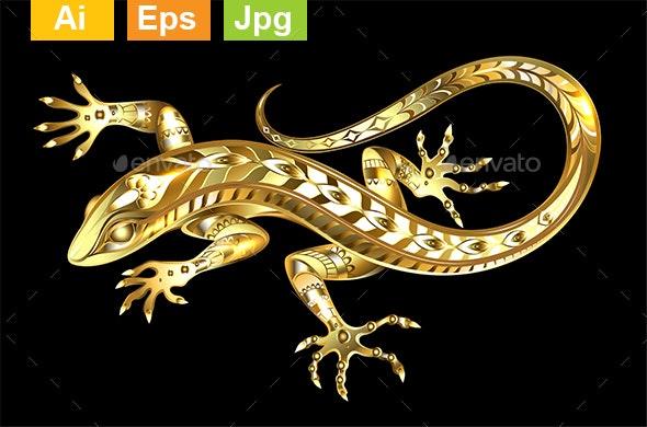 Golden Lizard - Miscellaneous Characters