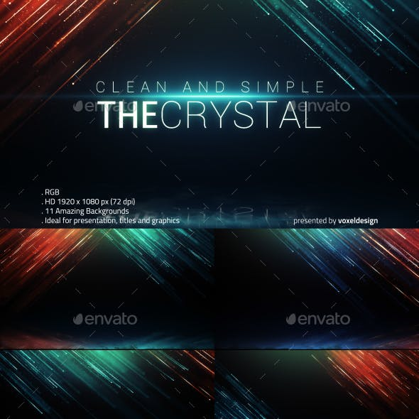 The Crystal Backgrounds