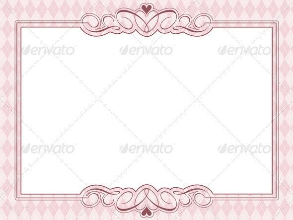 Decorative Argyle Pattern Background - Backgrounds Decorative
