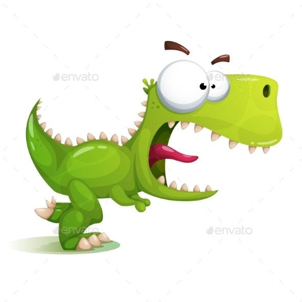 Dinosaur Illustration - Animals Characters