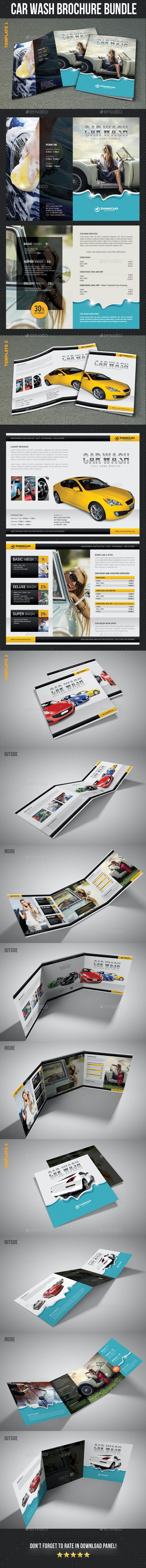 Car Wash Brochure Bundle - Corporate Brochures