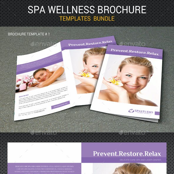 Spa Wellness Brochure Bundle 02