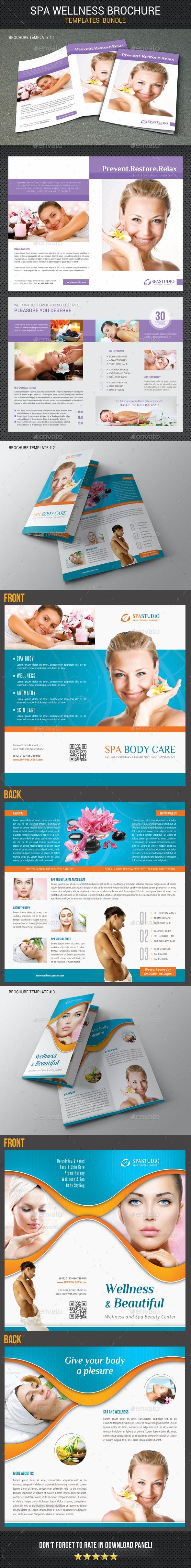 Spa Wellness Brochure Bundle 02 - Corporate Brochures
