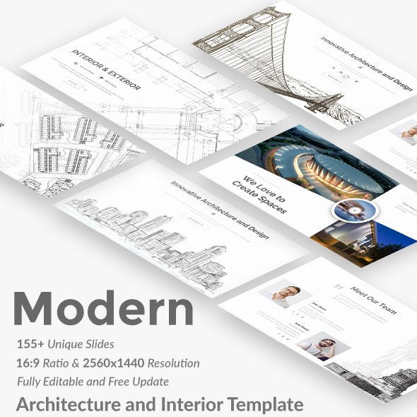 Modern - Architecture and Interior Keynote Template